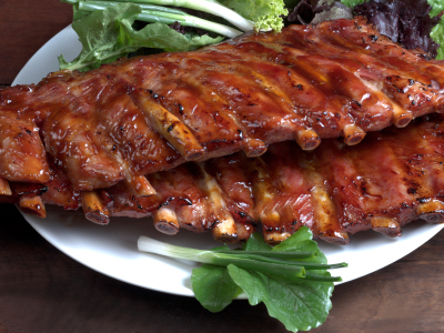 Asian Tea-Smoked Barbecued Ribs