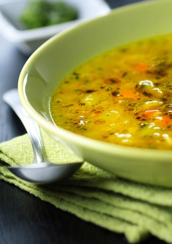 Turkey Soup, Italian-Style