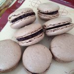 Chocolate-Orange Macarons