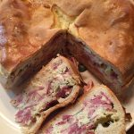 Easter Meat and Cheese Pie