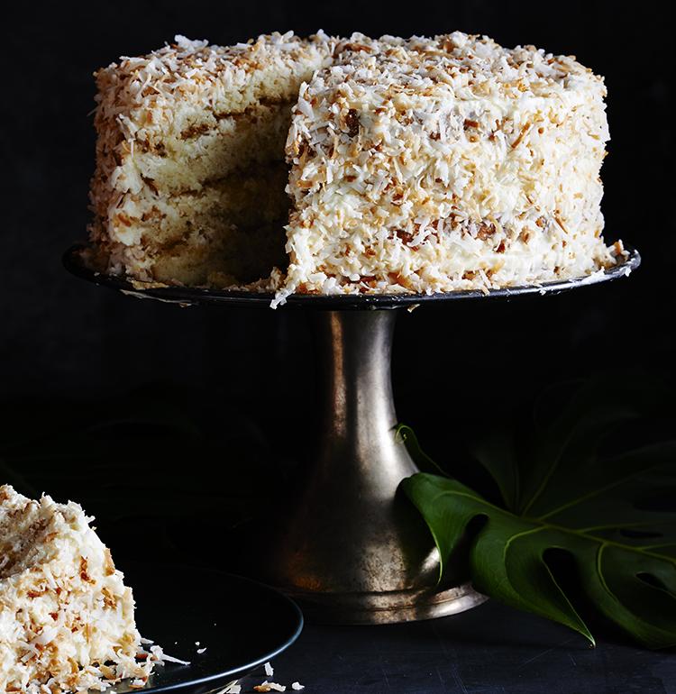 Tommy Bahama's Famous Piña Colada Cake
