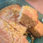 Moist and Cakey Cornbread with Fresh Corn