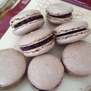 Chocolate-Orange Macarons