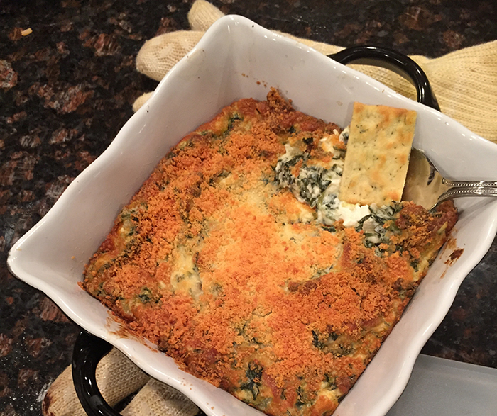 Salt-n-Pepa's The Ultimate Super Bowl Spinach Dip