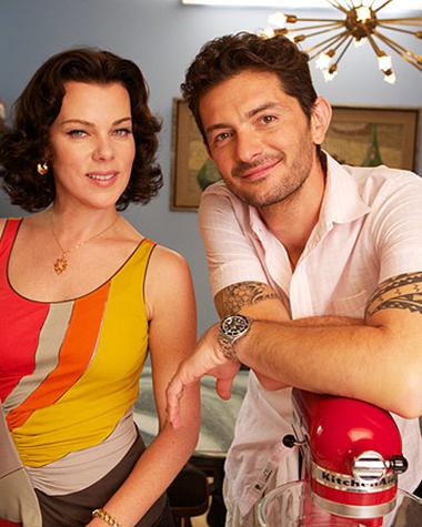 Super Tuscan; Extra Virgin's Debi Mazar & Gabriele Corcos